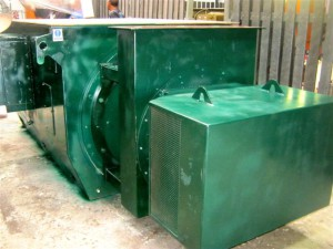 CAW repairs large 620kw electric motor