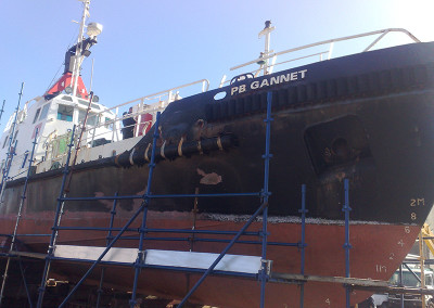 Tug Overhaul and Painting