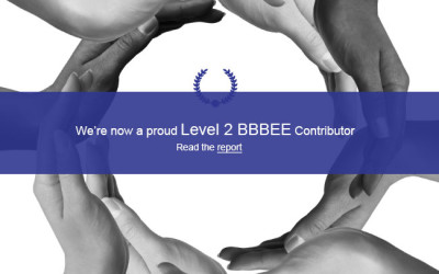 CAW reaches BBBEE Level 2 Status