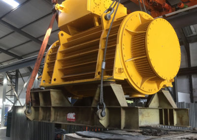 26 Ton Dredge Motor Repair